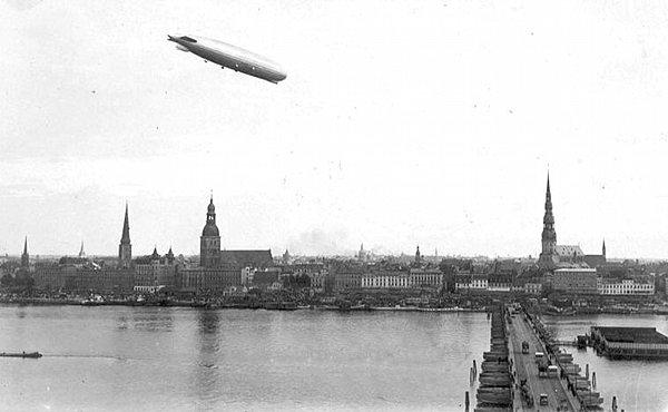 Zeppelins in Riga