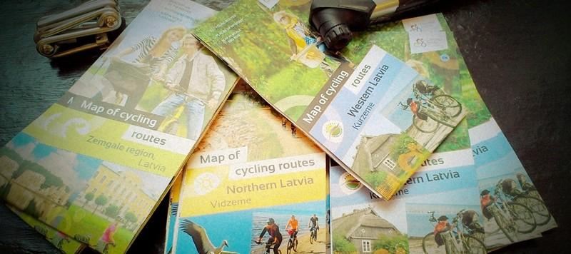 Bike Routes in Latvi
