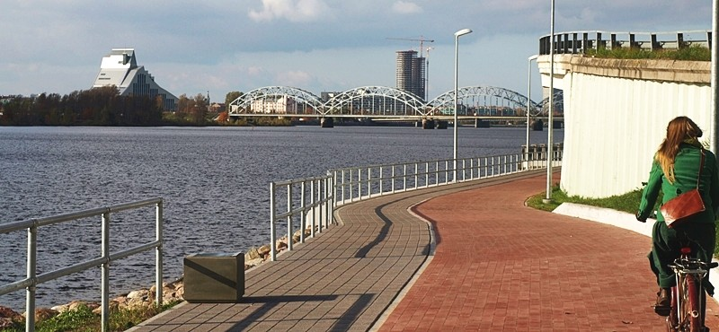 Bike Path in Riga